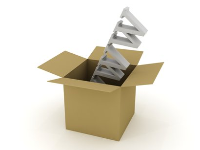 Websites do not come out of boxes
